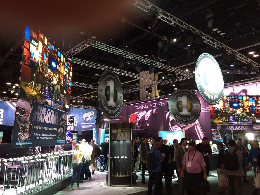 Callaway at the 2016 PGA Merchandise Show