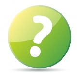 Green question mark icon