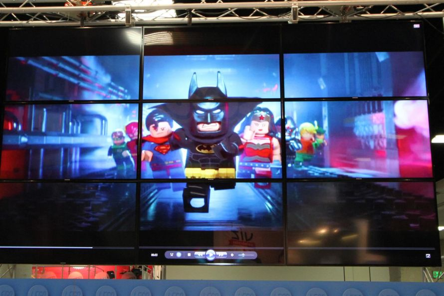 Video Wall - LEGO San Diego Comic-Con 2016