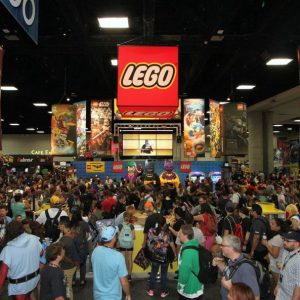 LEGO At San Diego Comic-Con 2016
