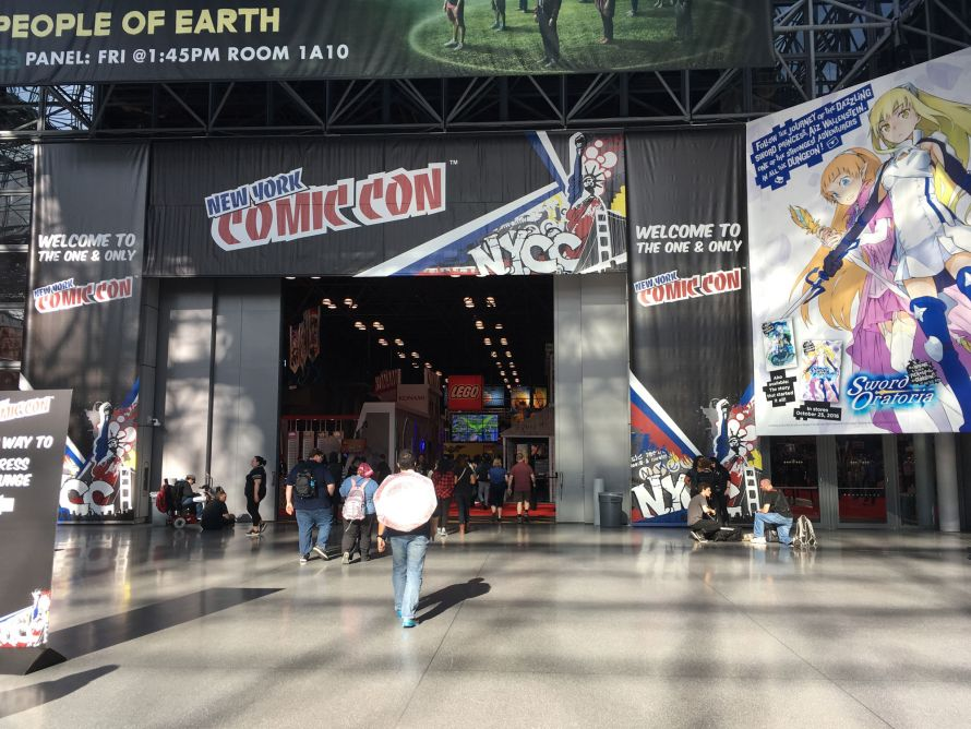 LEGO At NY Comic Con 2016