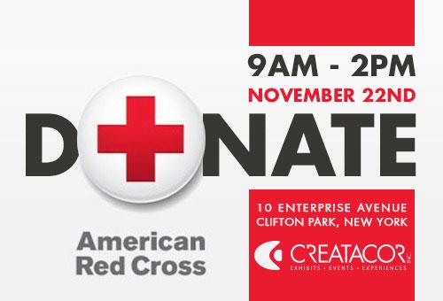 Creatacor Red Cross Blood Drive