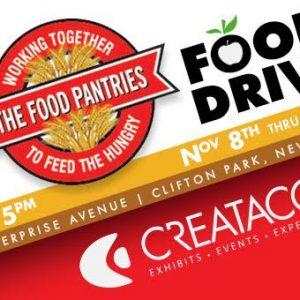 The Food Drive Is Underway!