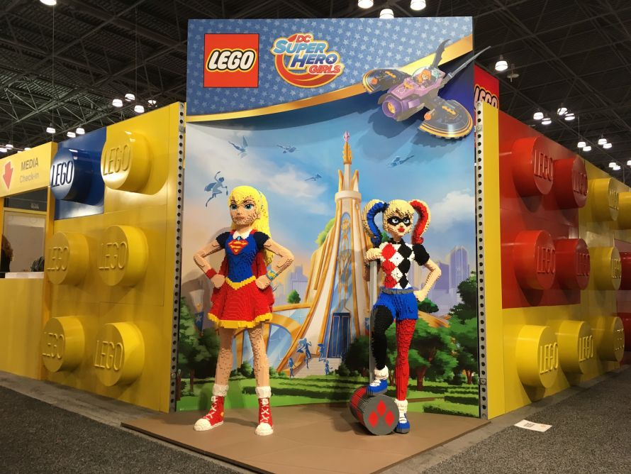 LEGO Toy Fair 2017 super heros
