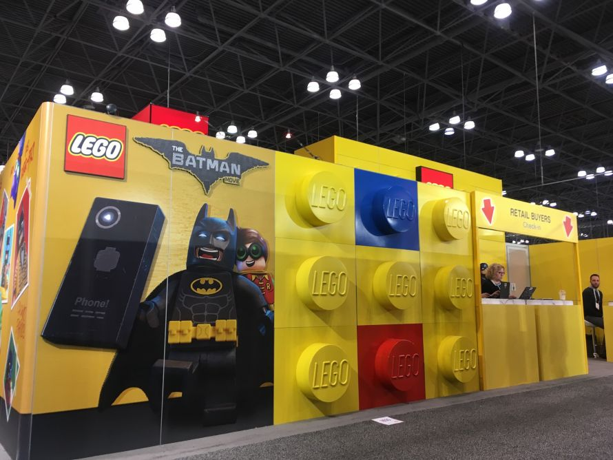 Batman lego wall