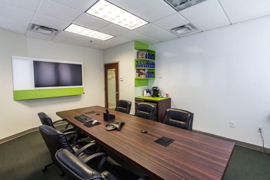 Office rebranding - conference room 1