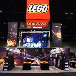 LEGO At Star Wars Celebration 2017