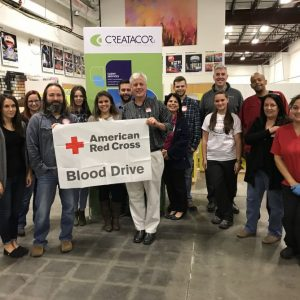 Our 2nd Annual Red Cross Blood Drive