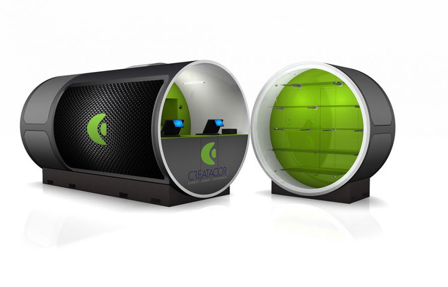 Creatacor Mobile Retail Tube