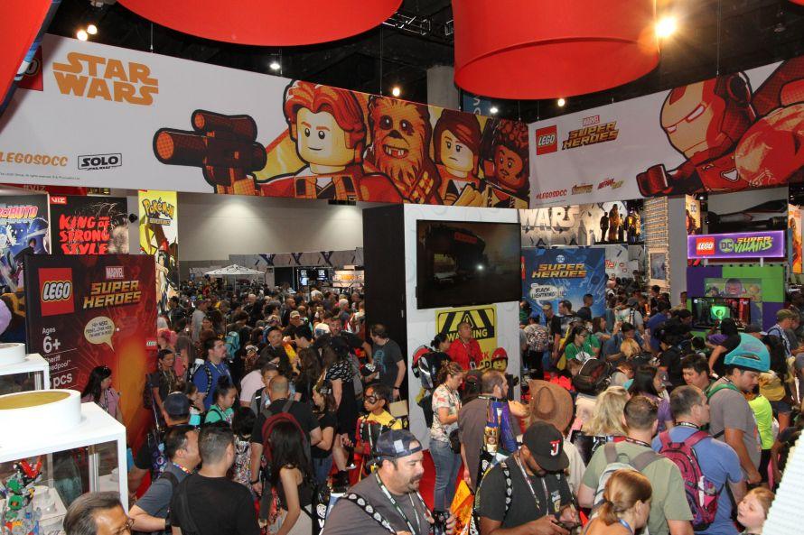 LEGO Comic-Con 2018