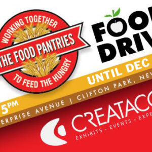 2018 Food Drive For The Food Pantries For The Capital District