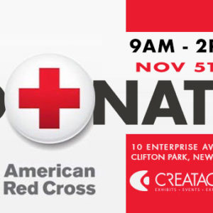 Creatacor To Host November 5th Red Cross Blood Drive