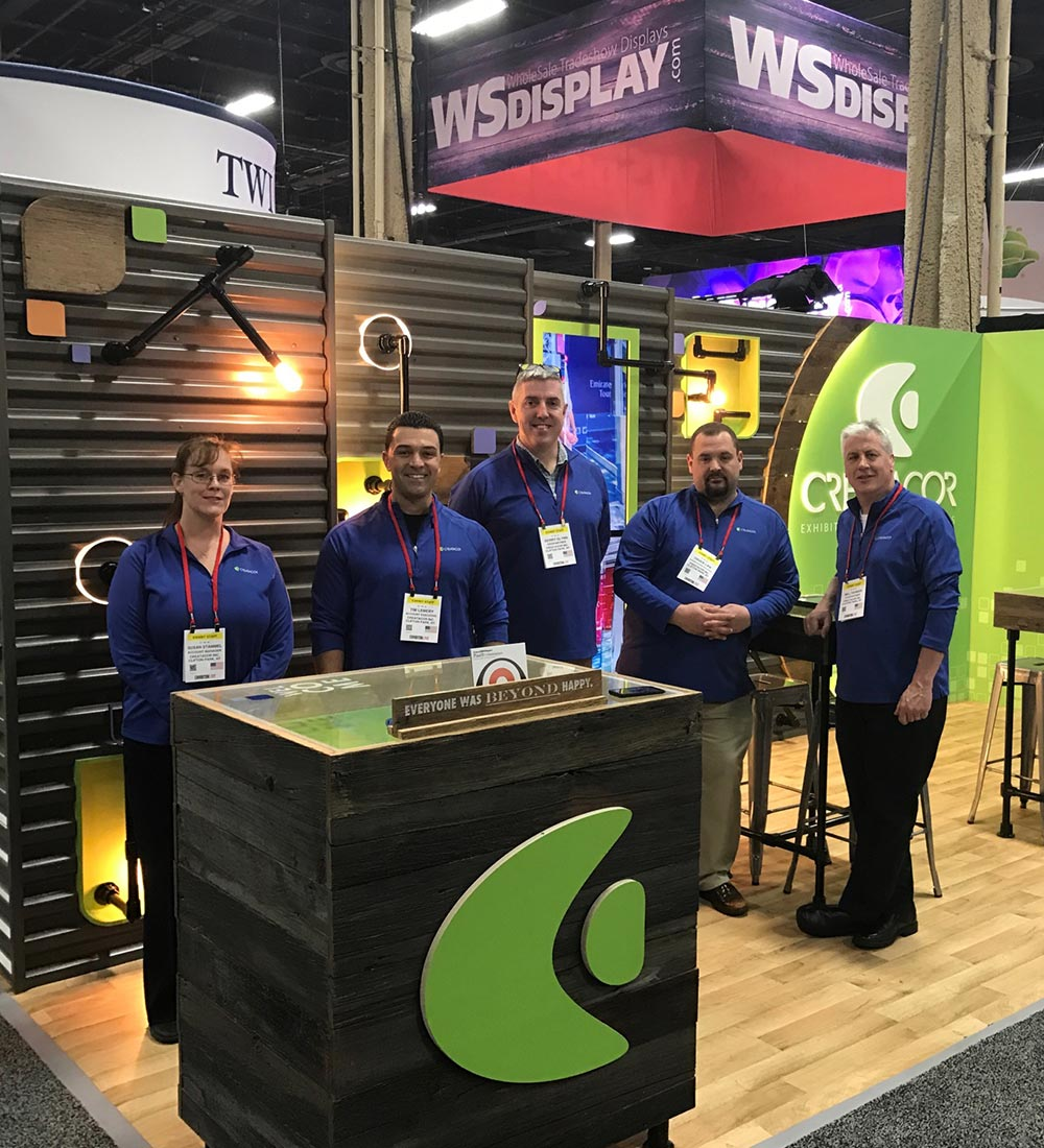 Creatacor Team at a Trade Show