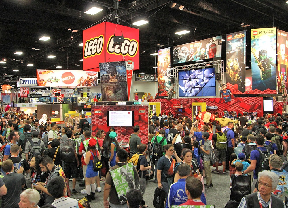 Lego Exhibit at Toy Trade Show
