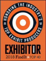Exhibitor 2018 Find It Top 40 logo