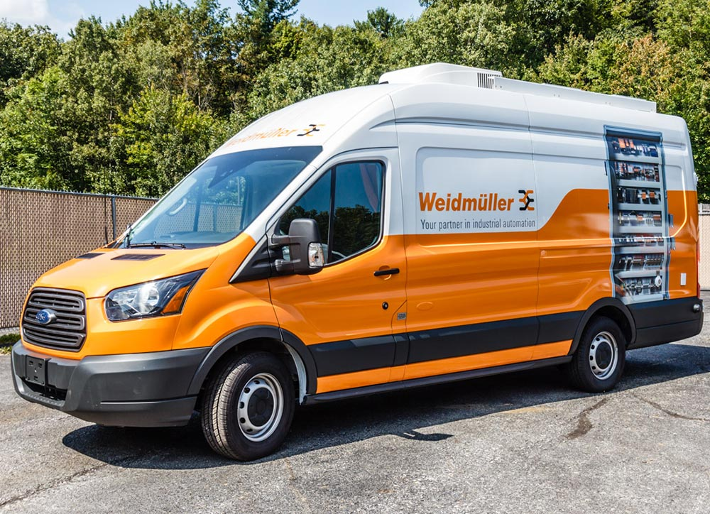 Wiedmuller Custom Van Mobile Exhibit