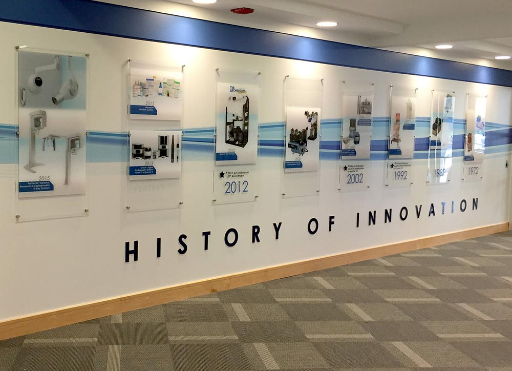 Permanent Wall Display - History of Innovation