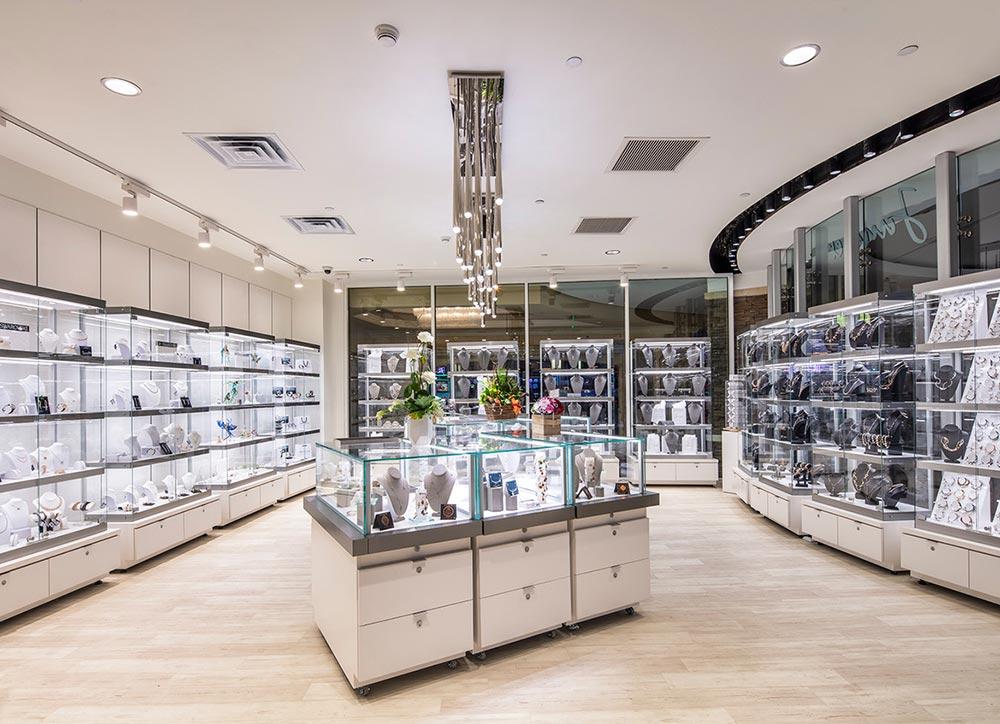 Jewelry Store Retail Displays