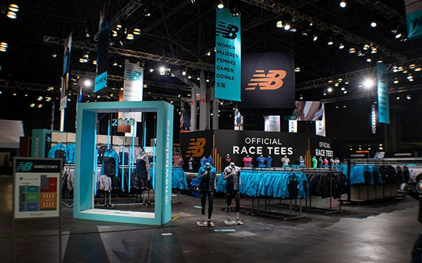 New Balance Exhibit and Retail Space
