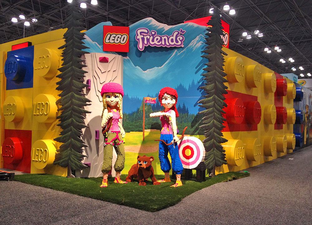 Lego Friends Exhibit