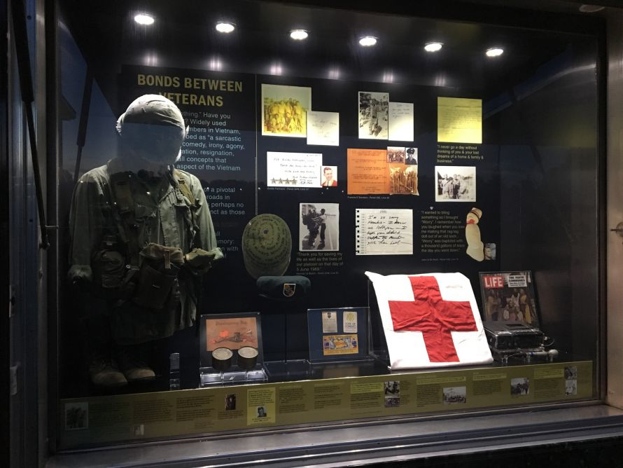 war museum display