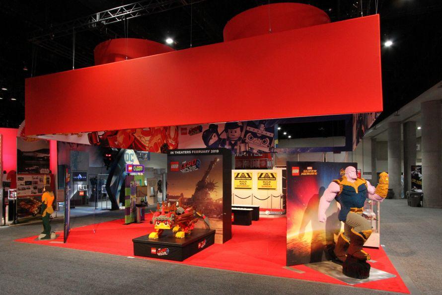 Lego trade show booth