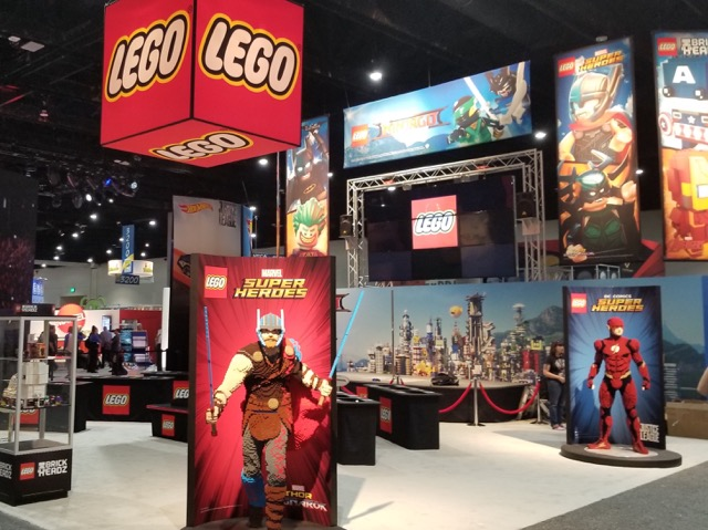 lego tradeshow display