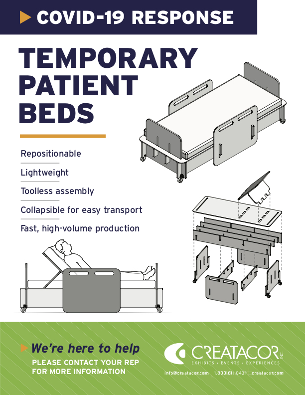 COVID-19 Temporary Patient Beds