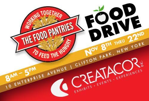 creatacor food drive graphic