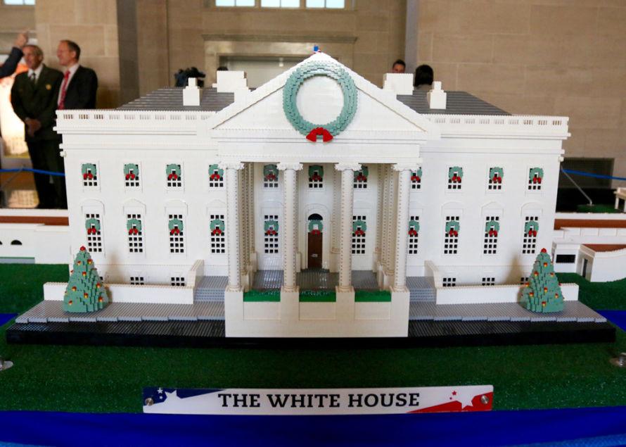lego whitehouse