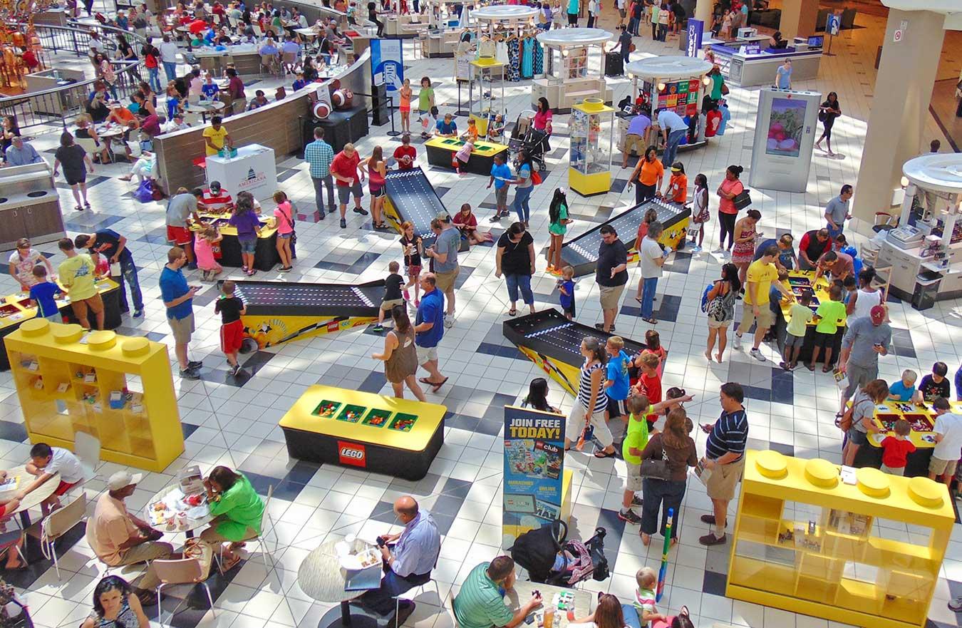 LEGO Americana Roadshow Race Ramps
