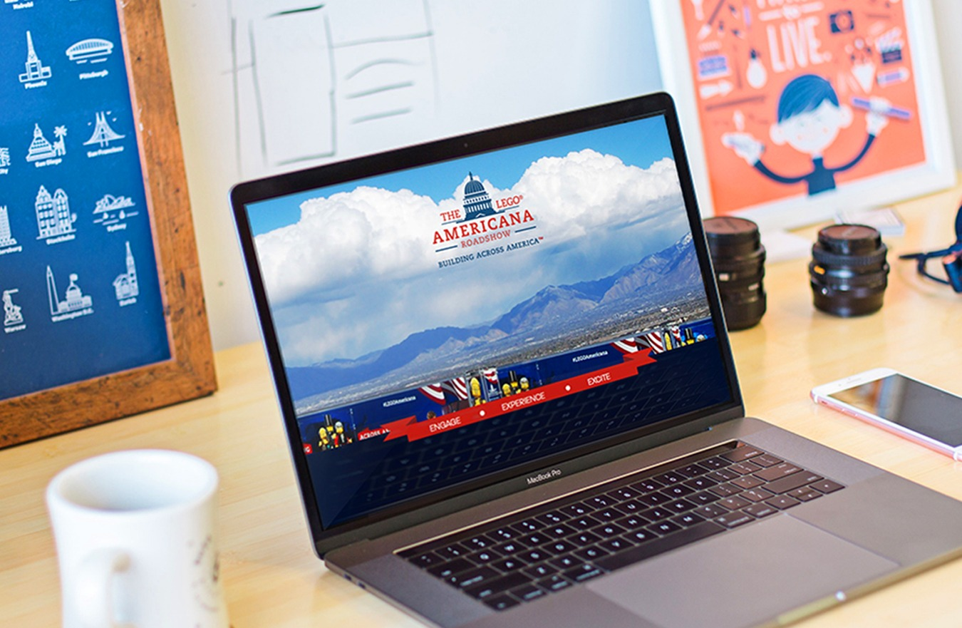 LEGO Americana Roadshow Website