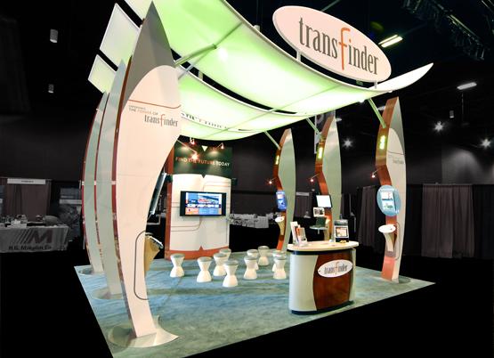 transfinder tradeshow exhibit