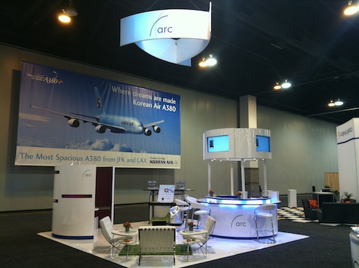 arc tradeshow exhibit