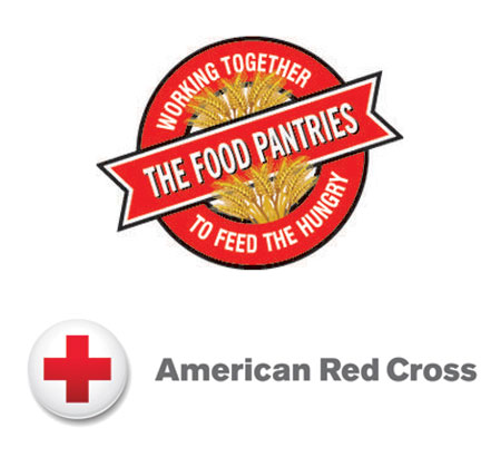 food pantries and red cross graphic
