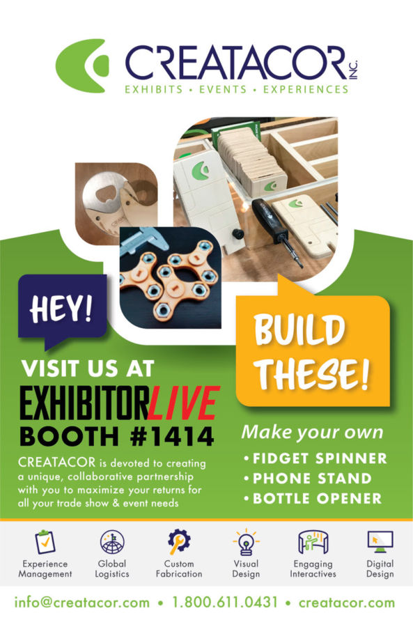 creatacor exhibitorlive advertisement