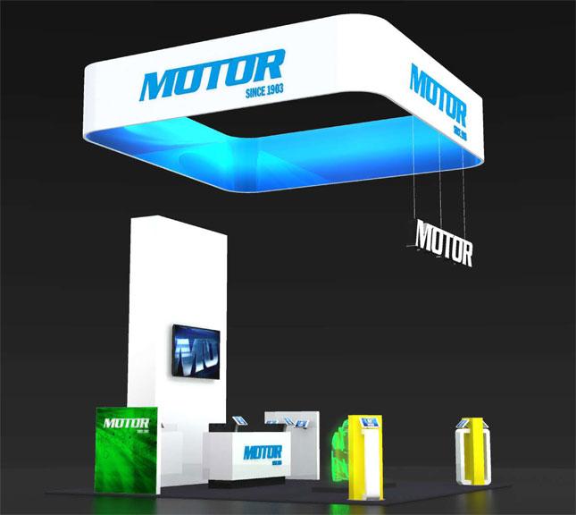 motor tradeshow exhibit