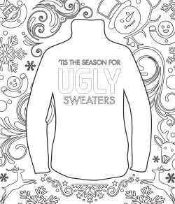 ugly christmas sweater graphic