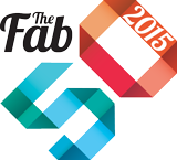 the fab 50 2015 logo