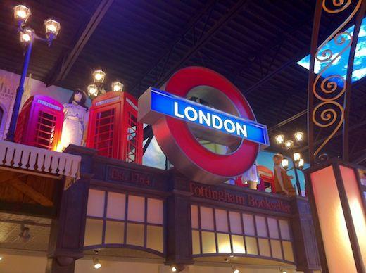london underground tradeshow exhibit